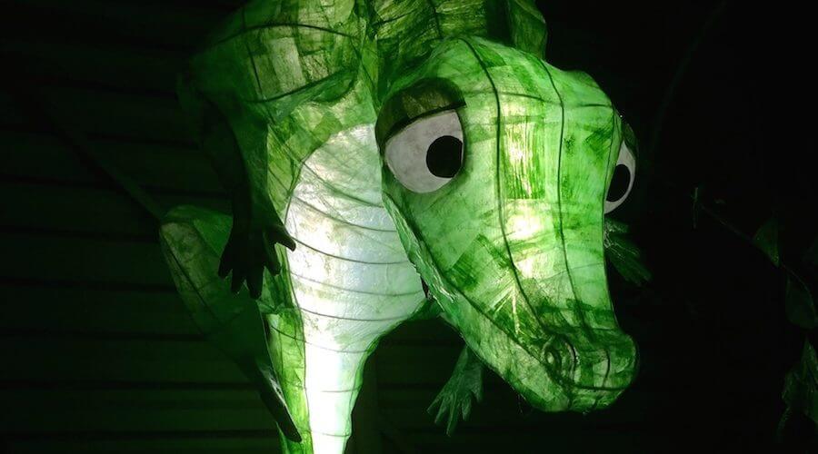 Sculpture Le Crocodile et Le Coquelicot Pierre -Adrien LECERF Pierre de MECQUENEM Linda Yi Plasticienne